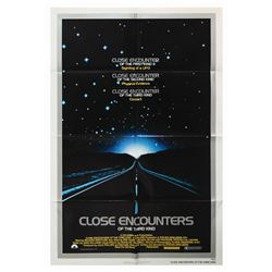 Close Encounters of the Third Kind One Sheet Poster.