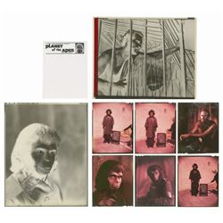 Set of (8) Planet of the Apes Transparencies.