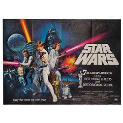 Star Wars Style-C British Quad Poster.