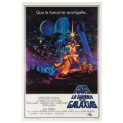 Star Wars Spanish One Sheet Poster.