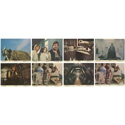 Collection of (8) Star Wars Lobby Cards.