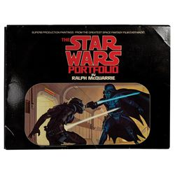 """The Star Wars Portfolio"" First Edition Print Set."