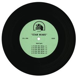 Star Wars Radio Spots Record.