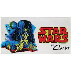 Star Wars Store Display Banner.