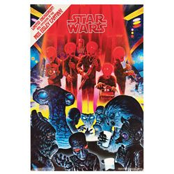 Star Wars Fan Club Cantina Poster.