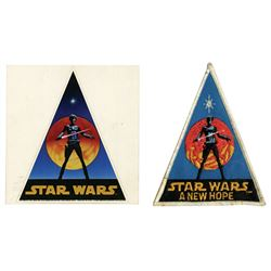 Star Wars: A New Hope Patch and Sticker.