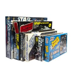 Collection of (6) Star Wars Models and Games.