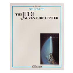 The Jedi Adventure Center Poster.