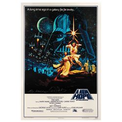 Hildebrandt Signed Star Wars 15th Anniversary Poster.
