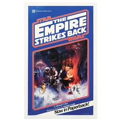 The Empire Strikes Back Pre-Release Novel Poster.
