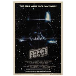 The Empire Strikes Back Advance One Sheet Poster.