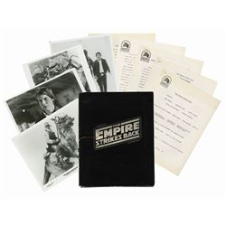 The Empire Strikes Back Press Kit.