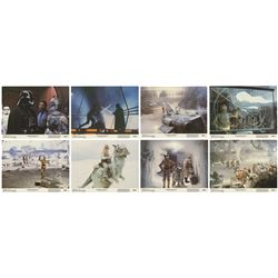 Collection of (8) The Empire Strikes Back Lobby Cards.