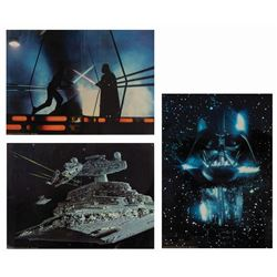 Set of (3) The Empire Strikes Back 20x30 Lobby Cards.