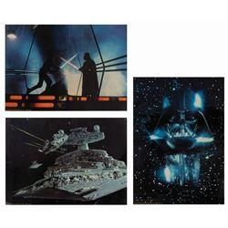 Set of (3) The Empire Strikes Back 20x30 Lobby Cards.