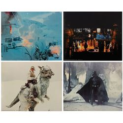 "Set of (4) The Empire Strikes Back 16""x20"" Lobby Cards."
