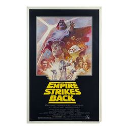 The Empire Strikes Back Re-Release One Sheet Poster.