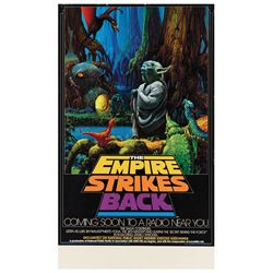 The Empire Strikes Back NPR Broadcast Poster.