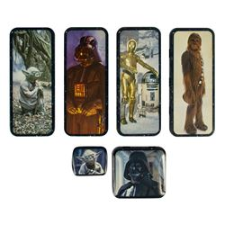 Set of (6) The Empire Strikes Back Metal Containers.