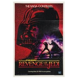 """Revenge of the Jedi"" One Sheet Poster."