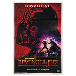 """Revenge of the Jedi"" One Sheet Poster."