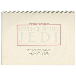 Revenge of the Jedi Promotional Campaign Book.