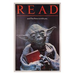 "Return of the Jedi ""Read"" Yoda Poster."