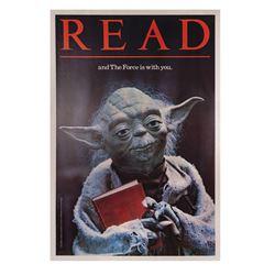 "Return of the Jedi ""Read"" Yoda Poster."