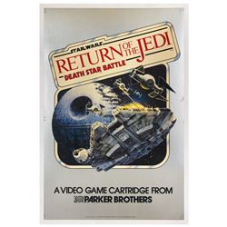 Return of the Jedi Death Star Battle Poster.