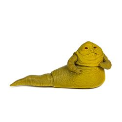 Movable Jabba the Hutt Toy by Kenner.