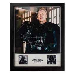 Darth Vader David Prowse Signed Photo.