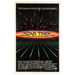 Star Trek: The Motion Picture Advance One Sheet Poster.
