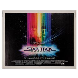 Star Trek: The Motion Picture Half Sheet Poster.