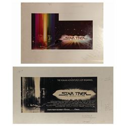 Pair of Star Trek: The Motion Picture Promotional Art.