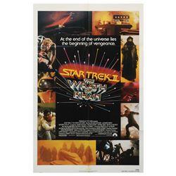Star Trek II: The Wrath of Khan One Sheet Poster.