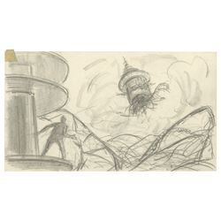 Original The Black Hole Concept Drawing.