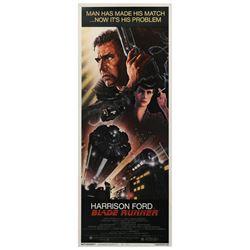 Blade Runner Insert Poster.
