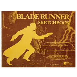 """Blade Runner Sketchbook"" Concept Art Book."
