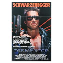 The Terminator One Sheet Poster.