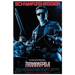 Terminator 2: Judgement Day One Sheet Poster.