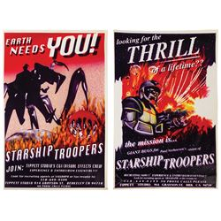 Pair of Starship Troopers Recruiting Posters.