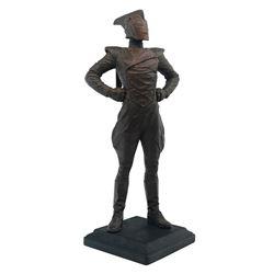 The Rocketeer Kent Melton Statue Prototype.