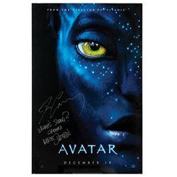 Signed Avatar Event Poster.