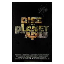 Signed Rise of the Planet of the Apes Event Poster.