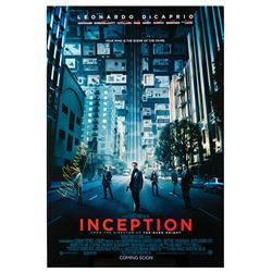 Signed Inception Event Poster.
