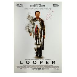 Signed Looper Event Poster.