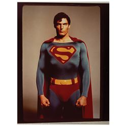Superman Christopher Reeve Production Photo.