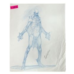 Spider-Man 3 Venom Concept Drawing.