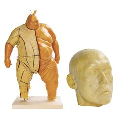 X-Men Origins: Wolverine Blob Maquette & Head.