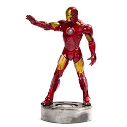 Iron Man Figure Signed by Stan Lee & Jon Favreau.